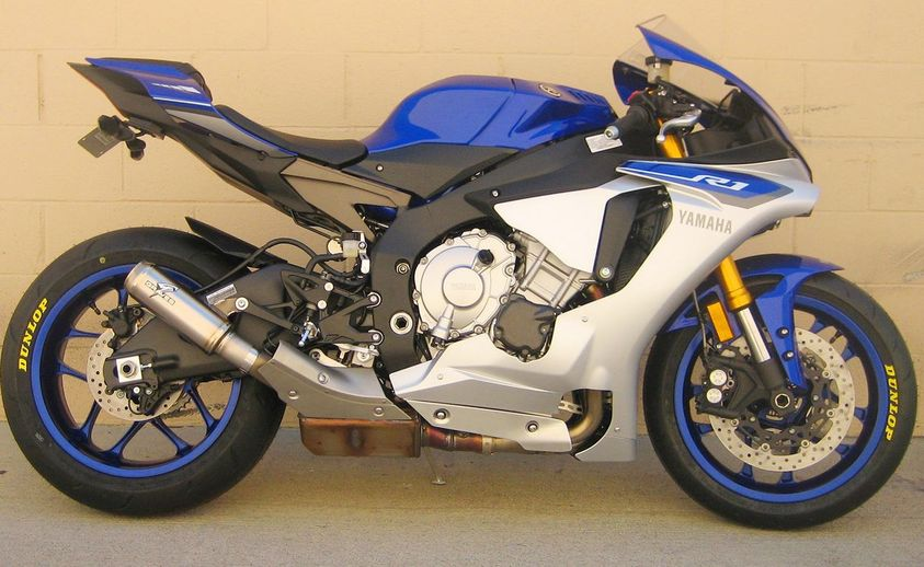 2015 YZF R1 Graves Exhaust