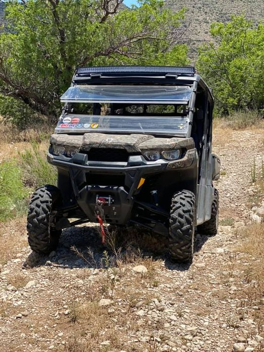 Can Am Defender bogged down.