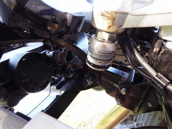 Fork stanchion failure on the GS LC?