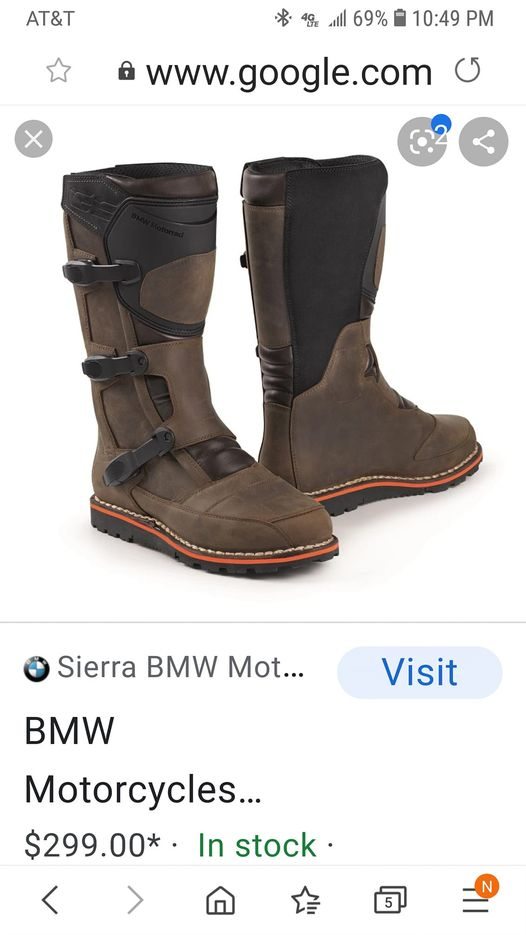 Gaerne Balance Oiled MX Boots Brown