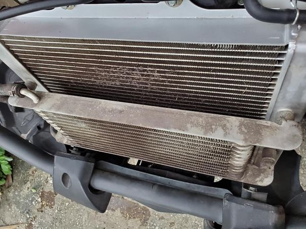 Once again radiator clogged job done!