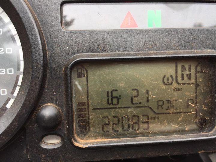 R1200GSA 2011 tire pressure