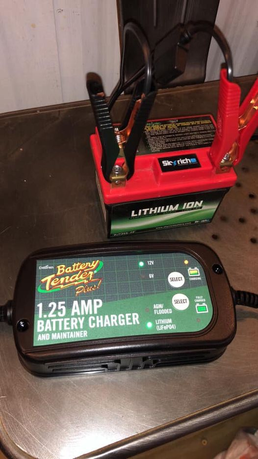 The battery in my 17 husky 501 is toast