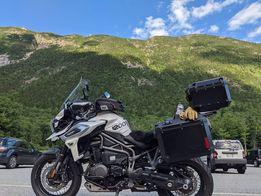 BMW, Triump, Honda, Yamaha Camping