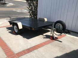I have a Drop Tail trailer that I used for hauling the Harley's