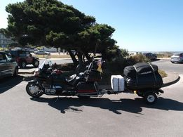I have a PiggyBacker XL trailer