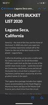 Laguna seca, is it worth riding?