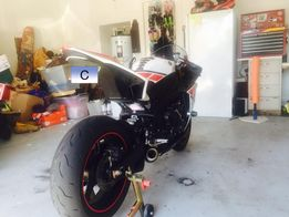 Low mounted exhaust for R1