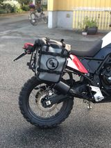 Tenere 700 saddlebags and a rear rack