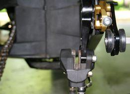 YZF R1 Underslung rear caliper?