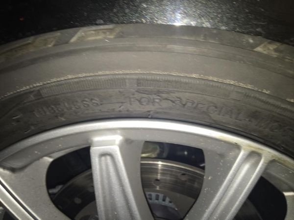 Well I had a front tire blow out on my spyder tonight!