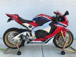 SC Project Exhaust Installed (2017 1000RR)   Motorcycle 7 USA