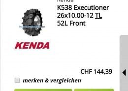 CForce 520 Bigger Tire